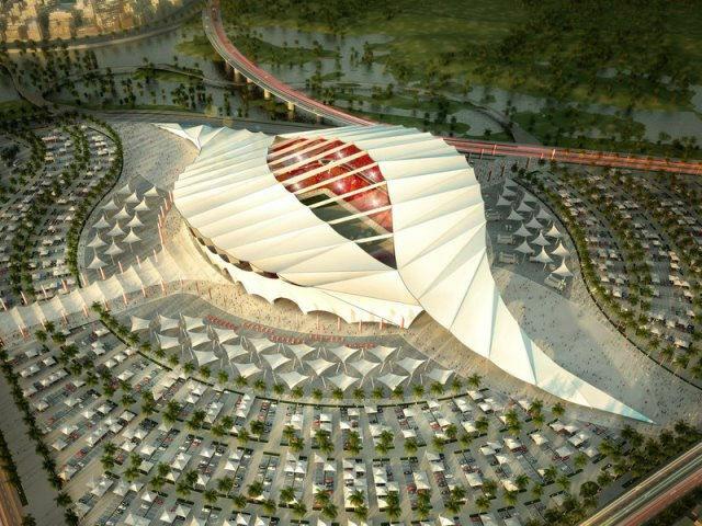 3D nyomtatott stadion - Katar