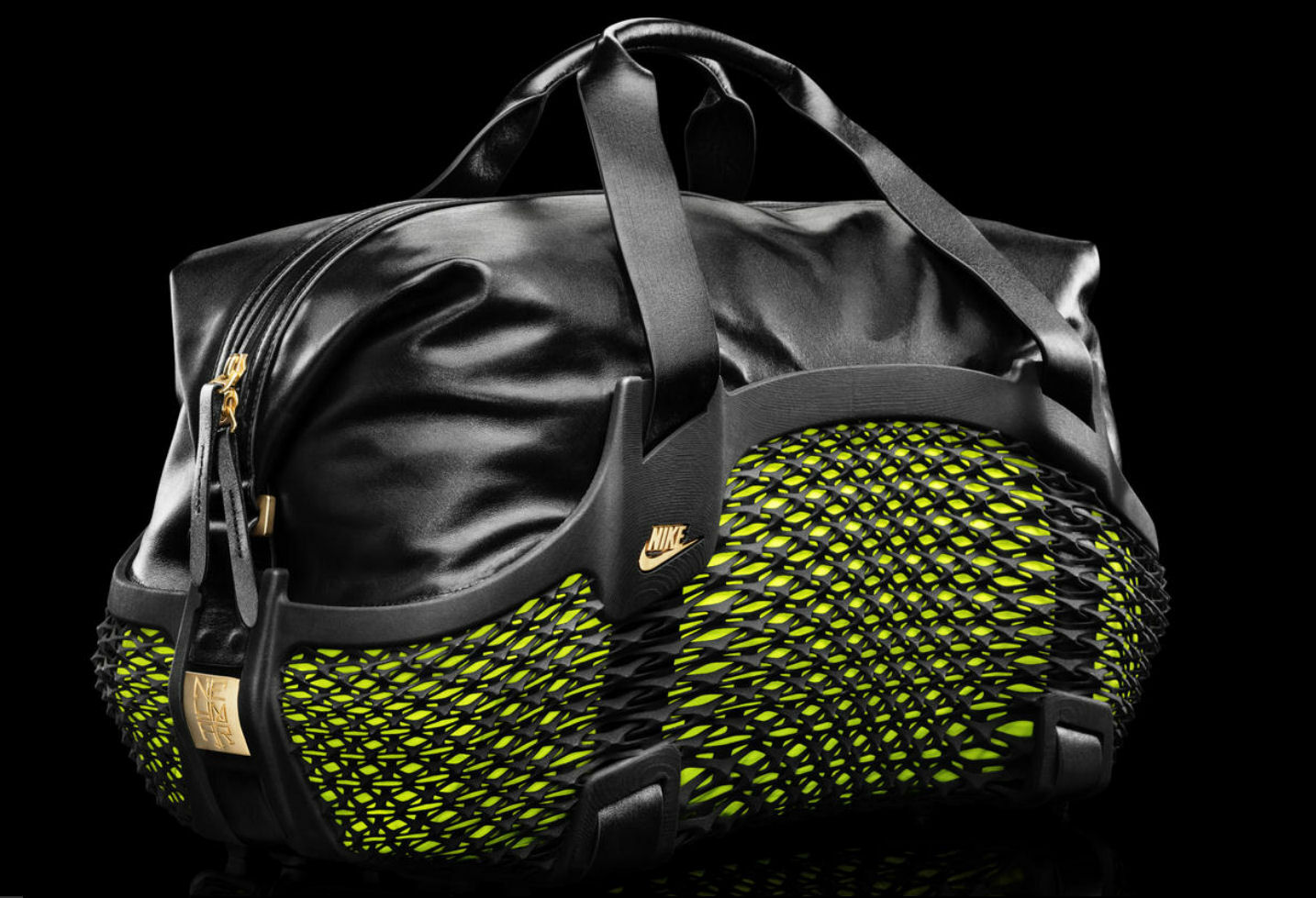 3D printed sports bag