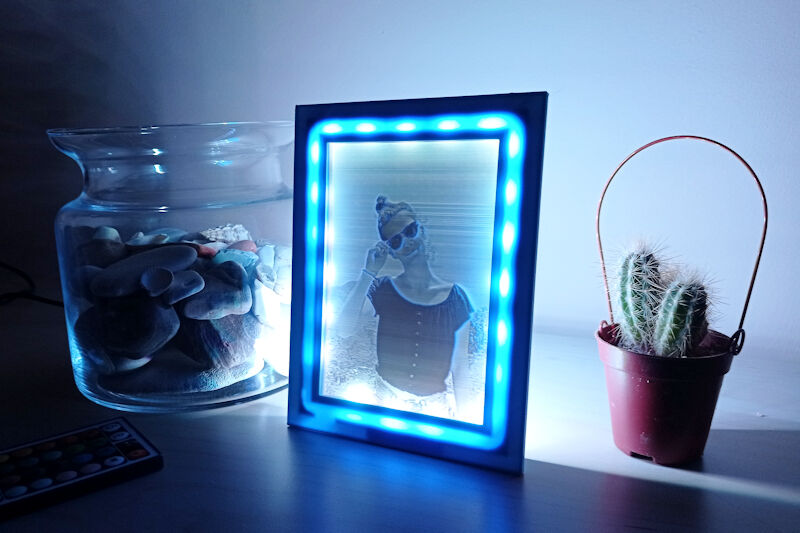 Litofán with LED light