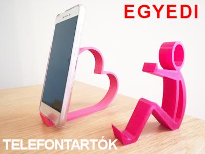 Asztali telefontartók - 3D-s ajándékok