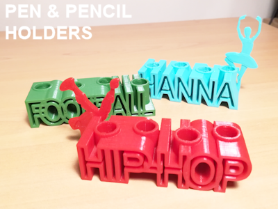 Pencil holders - 3D printed products