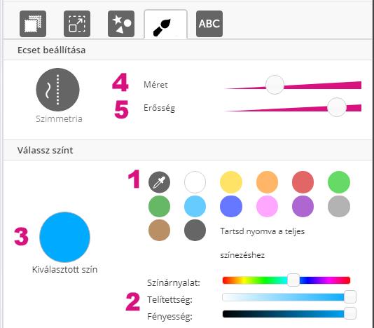 Multicolor anyag a 3D konfigurátorban