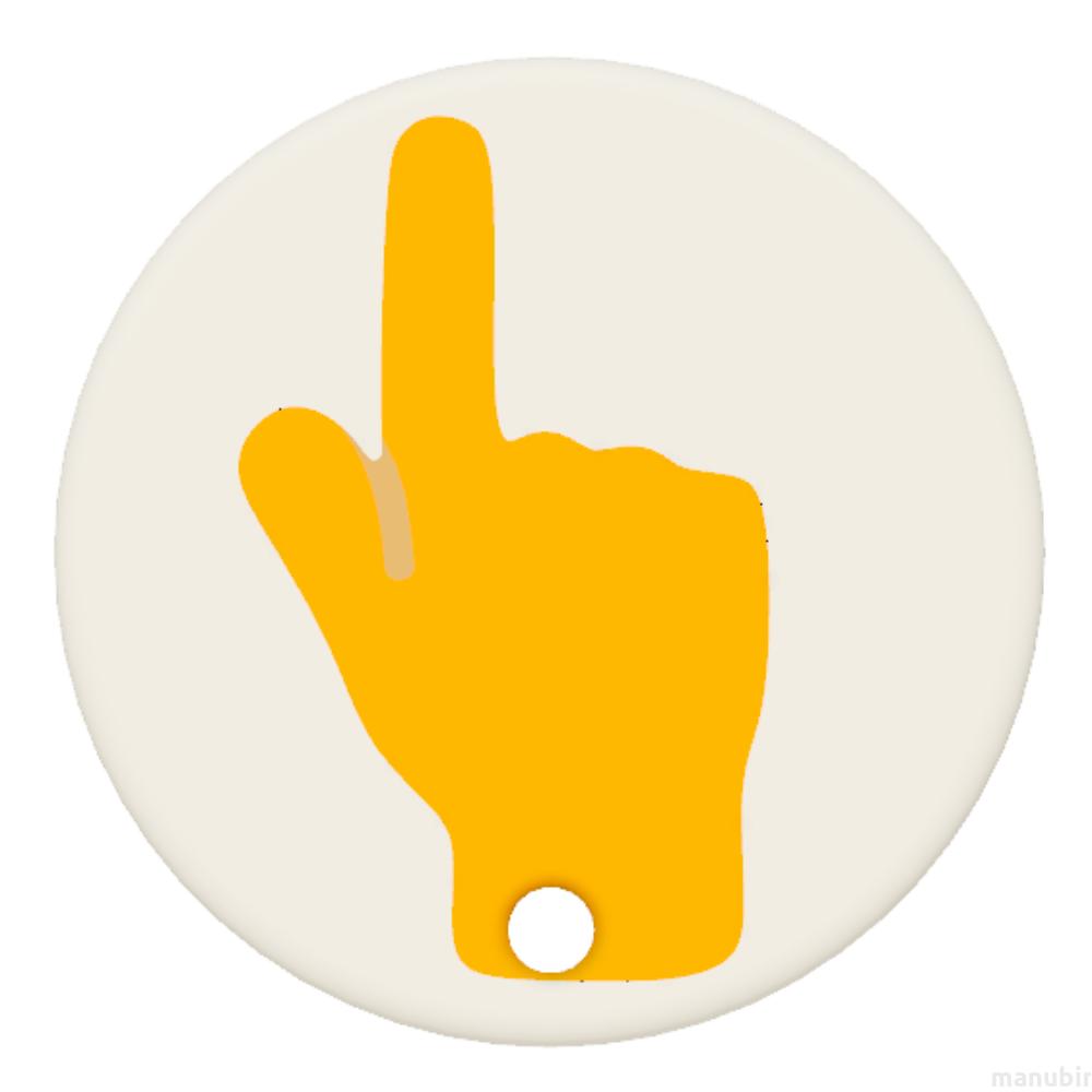 3D nyomtatott Egyedi emoji kulcstartó - (30x30x4 mm ...