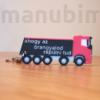 Kép 2/4 - Custom 3D Printed Product - Truck Keychain