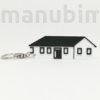 Picture 1/2 -House-Shaped Keychain