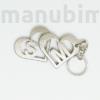 Picture 2/2 -Szíves fém kulcstartók - egyedi 3D nyomtatott termék