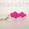 Kép 1/2 - Custom 3D Printed Gift - Name Keychain with Hearts