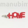 Picture 1/2 -Letter Keychain - HOME