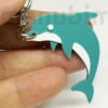 Picture 1/2 -Dolphin Keychain