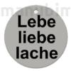 "Picture 2/2 -Custom Keychain ""Hirsch"" - (38x38x4 mm) - Multicolor - composite powder"