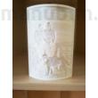 3D nyomtatott fénykép - litofán