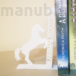 Egyedi könyvtámasz - lovas