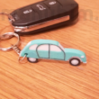 Custom 3D Printed Car Keychaain - Citroen