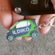 Egyedi Smart autós kulcstartó