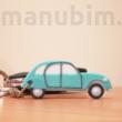 Egyedi Citroën kacsa kulcstartó
