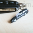 Custom 3D Printed products - Audi A4 Combi Keychain