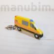 Mentőautós kulcstartó - 3D nyomtatott