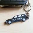 Egyedi autós kulcstartó