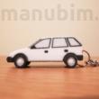 Custom 3D Printed Car Keychaain