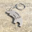Családi fém kulcstartók - egyedi 3D nyomtatott termék