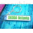Egyedi rendszám alakú kulcstartó - 3D nyomtatott ajándéktárgy