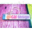 Unique Licence Plate keychain - 3D printed