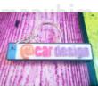 License Plate Keychain
