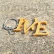 Monogramos fém kulcstartók - egyedi 3D nyomtatott termék