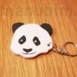 Panda macis kulcstartó egyedi szöveg opcióval