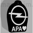 "Custom Keychain - ""Apa"" (49x40x3.8mm) - Multicolor"