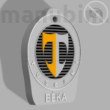 "Custom Car Keychain ""BÉKA"" - (40x50x5 mm) - Multicolor - composite powder"