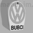 "Custom Keychain - ""BUBCI"" (40x48x4 mm) - Multicolor"