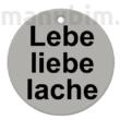 """Egyedi kulcstartó """"Hirsch"""" - (38x38x4 mm) - Multicolor, kompozit por"""