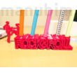 3D Printed Rock And Roll Pen Holder