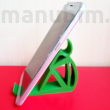 3D printed cellular phone holder - Sitting Man
