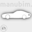 Mercedes AMG GT Shaped Keychain