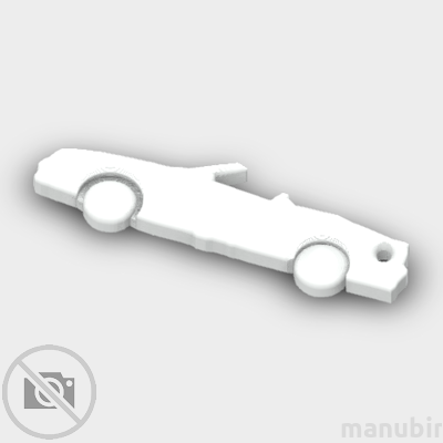 BMW Convertible Shaped Keychain