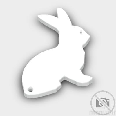 Bunny Shaped Keychain