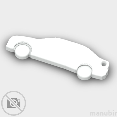 Citroen Elysee Shaped Keychain