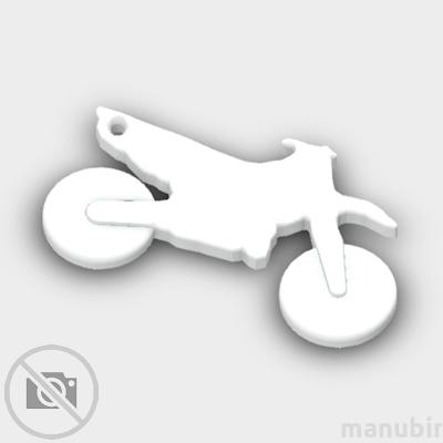 Crossmotor Shaped Keychain