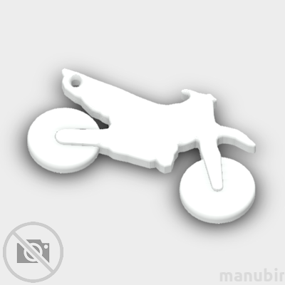 Crossmotor Shaped Keychain