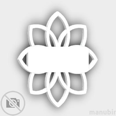 Flower Door Plate