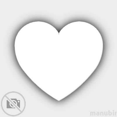 Szív alakú hűtőmágnes 2
