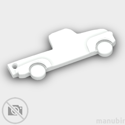 Ford Truck Shaped Keychain