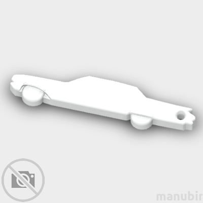 American Oldtimer Car Shaped Keychain