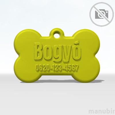 Bone Dog Tag - Large (DIY)