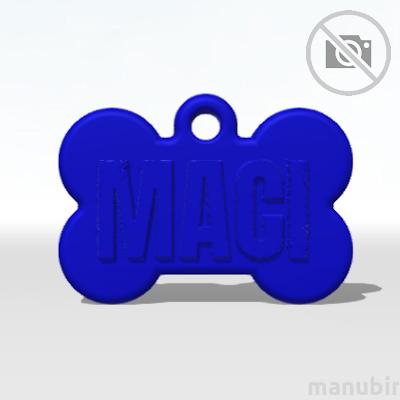 Bone Dog Tag - Small (DIY)