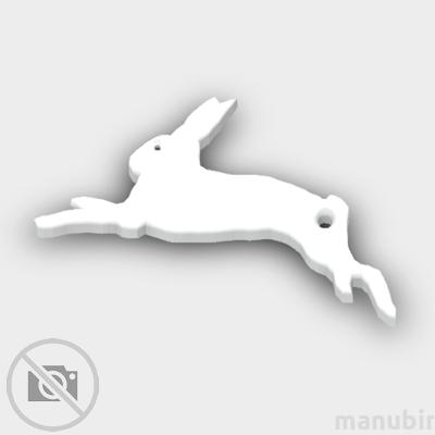 Rabbit Shaped Keychain