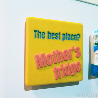 Rectangular Fridge Magnet