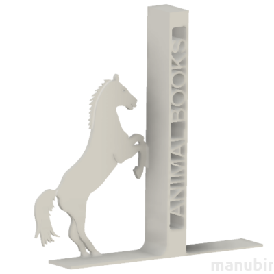 Horse Bookend - 3D printed